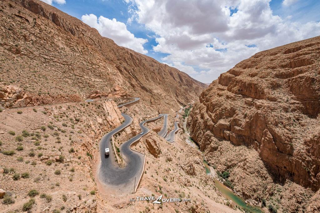 Morocco Sahara Desert Dades Gorges 達德斯峽谷