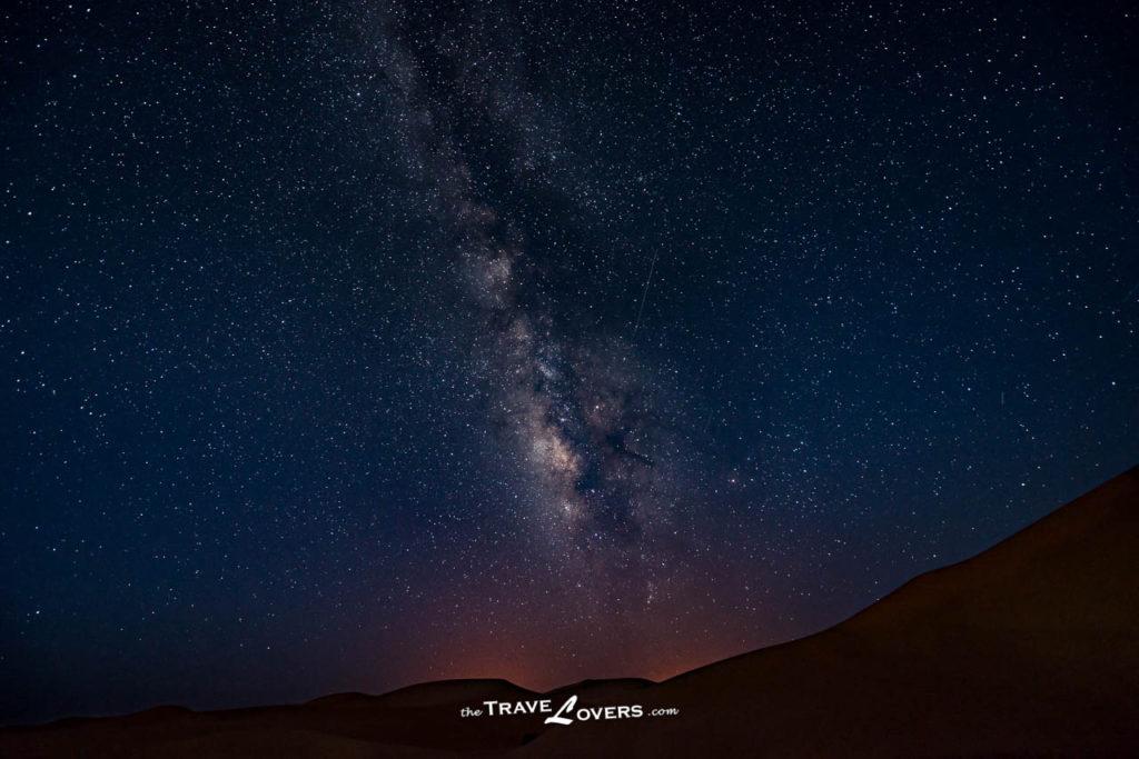 Morocco Sahara Desert Stars Galaxy