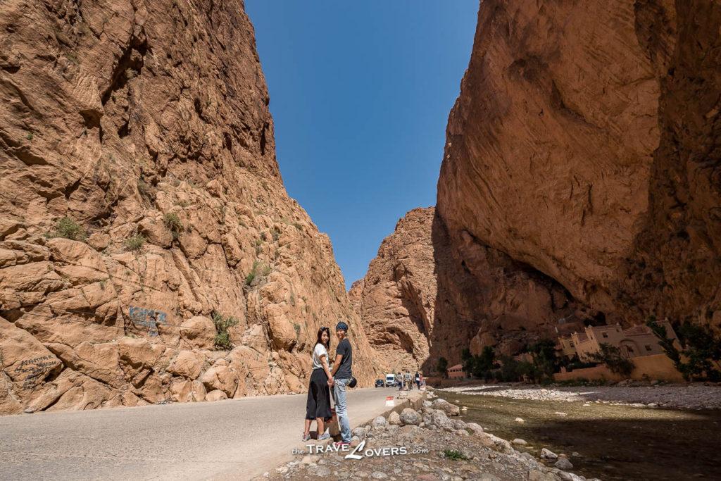 Morocco Sahara Desert Todra Gorges 託德拉峽谷