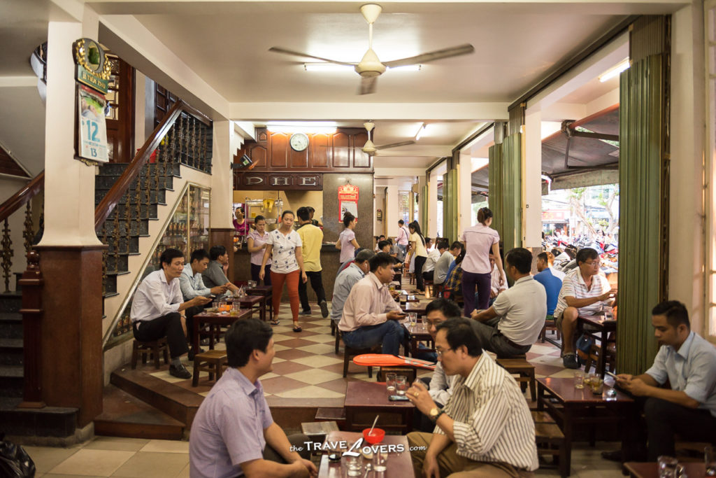 Vietnam travel coffee cafe